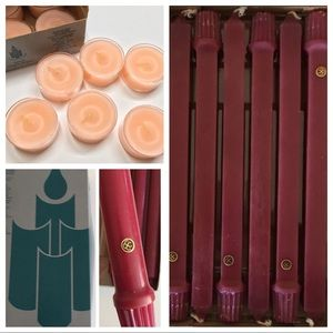 🆕 NIB PartyLite Lot of 3 boxes Retired Candles EC